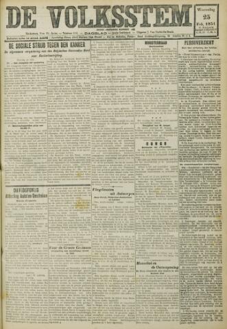 De Volksstem 1931-02-25