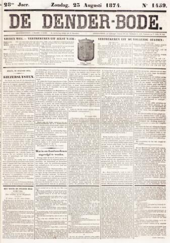 De Denderbode 1874-08-23