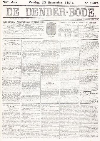 De Denderbode 1874-09-13