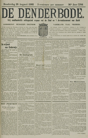 De Denderbode 1902-08-28