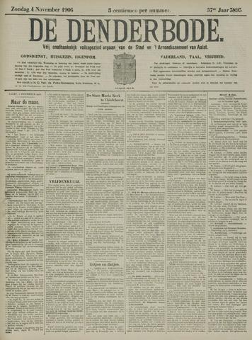 De Denderbode 1906-11-04