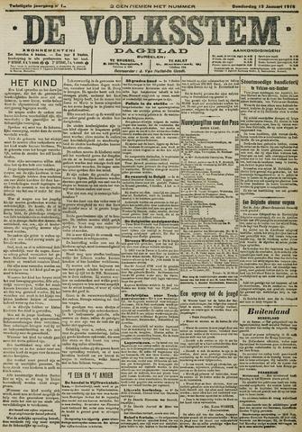 De Volksstem 1914-01-15