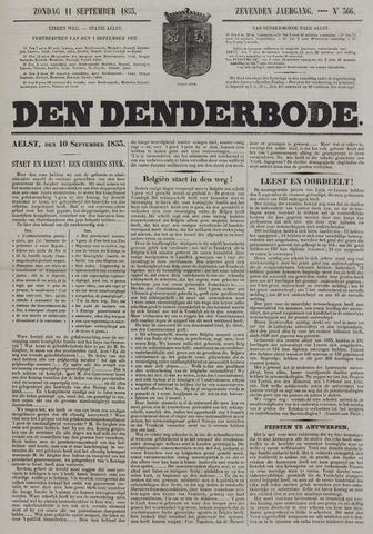 De Denderbode 1853-09-11