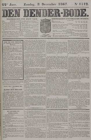 De Denderbode 1867-12-08
