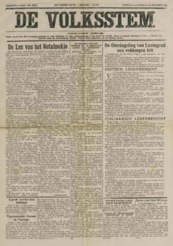 De Volksstem 1941-09-09