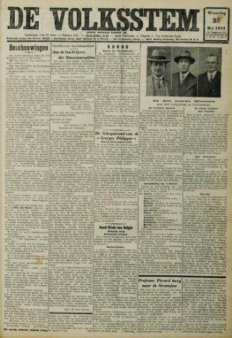 De Volksstem 1932-05-25