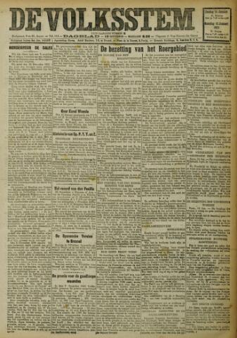 De Volksstem 1923-01-14