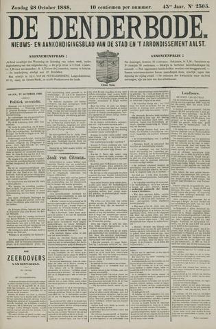 De Denderbode 1888-10-28