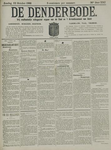 De Denderbode 1902-10-12