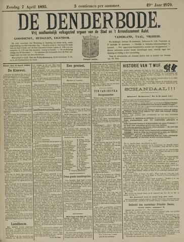 De Denderbode 1895-04-07