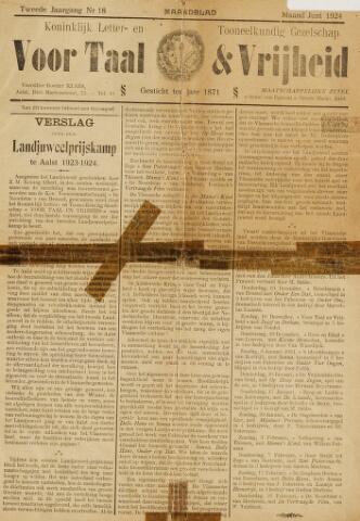 Voor Taal en Vrijheid 1924
