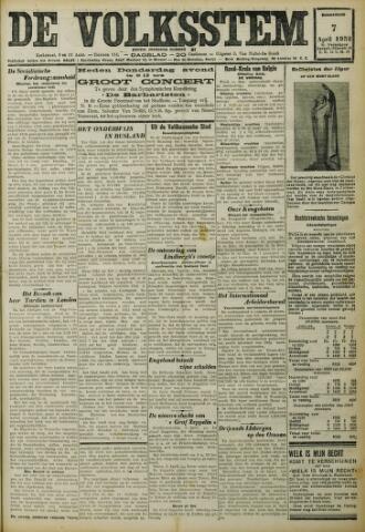 De Volksstem 1932-04-07