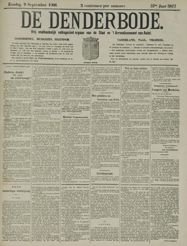 De Denderbode 1906-09-09