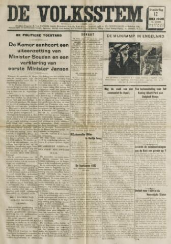 De Volksstem 1938-05-12