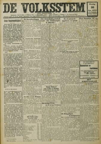 De Volksstem 1932-01-26