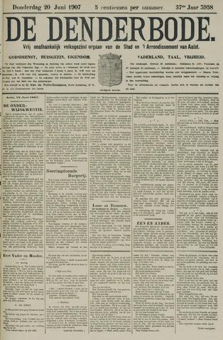 De Denderbode 1907-06-20