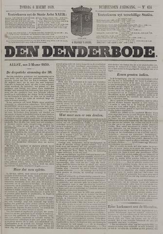 De Denderbode 1859-03-06