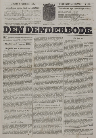 De Denderbode 1859-02-06