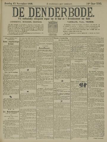 De Denderbode 1898-11-13