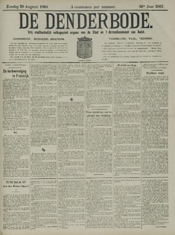 De Denderbode 1904-08-28