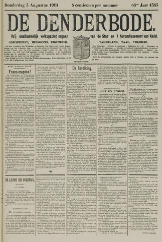 De Denderbode 1911-08-03