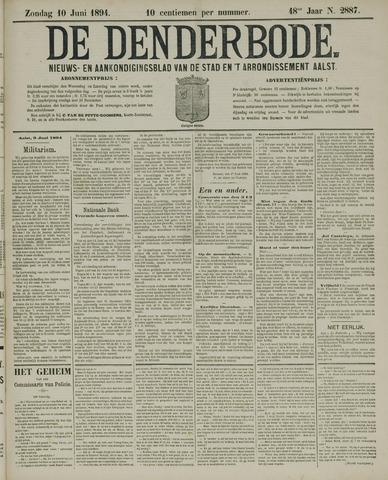 De Denderbode 1894-06-10
