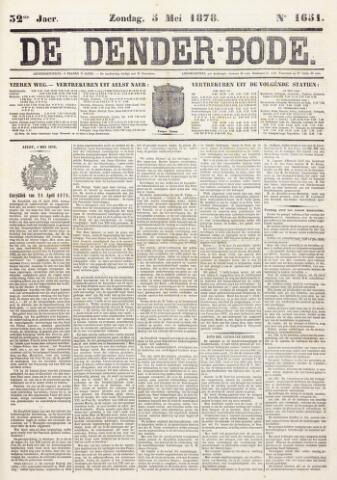 De Denderbode 1878-05-05