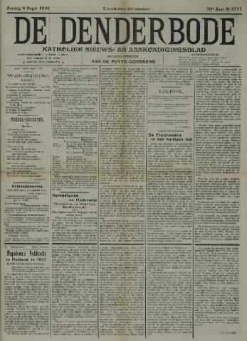 De Denderbode 1916-08-06