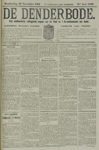 De Denderbode 1904-11-10