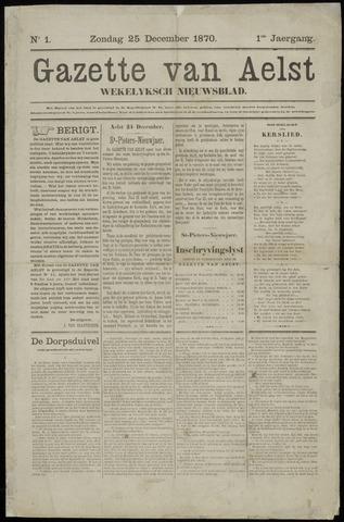 De Gazet van Aalst 1870