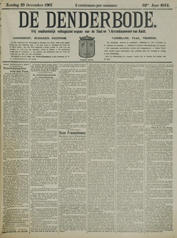 De Denderbode 1907-12-29