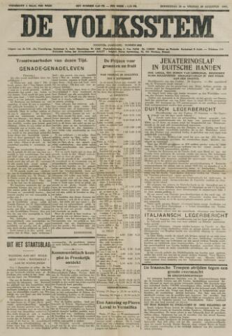 De Volksstem 1941-08-28