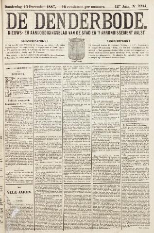De Denderbode 1887-12-15