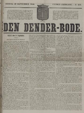 De Denderbode 1850-09-29