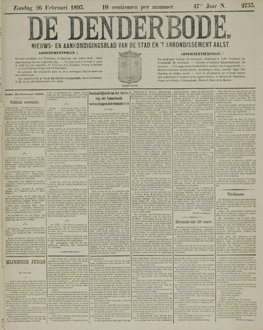 De Denderbode 1893-02-26