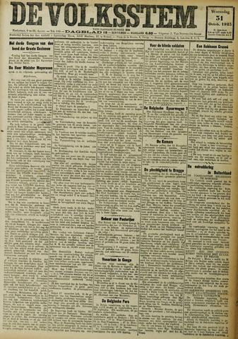 De Volksstem 1923-10-31