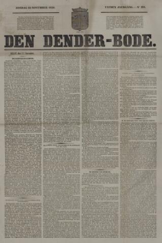 De Denderbode 1850-11-24