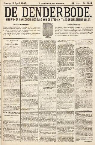 De Denderbode 1887-04-10