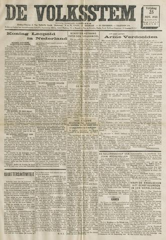 De Volksstem 1938-11-25