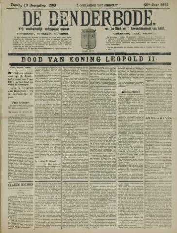 De Denderbode 1909-12-19