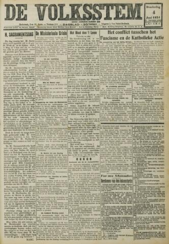 De Volksstem 1931-06-04