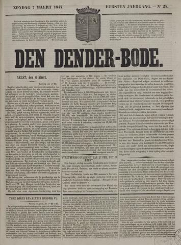 De Denderbode 1847-03-07