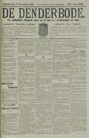 De Denderbode 1904-11-03