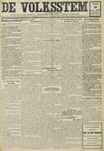 De Volksstem 1930-09-26