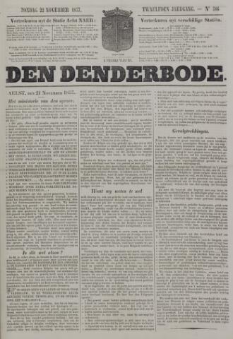 De Denderbode 1857-11-22