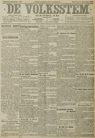 De Volksstem 1914-11-11