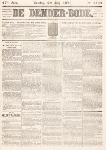 De Denderbode 1873-07-20