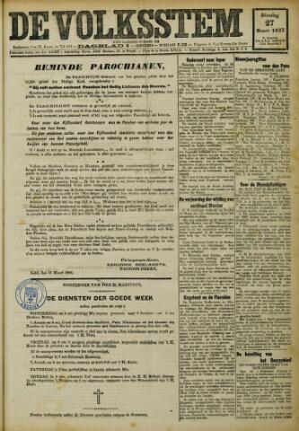 De Volksstem 1923-03-27