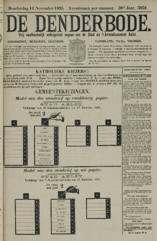 De Denderbode 1895-11-14