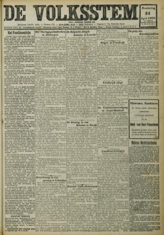 De Volksstem 1930-04-24